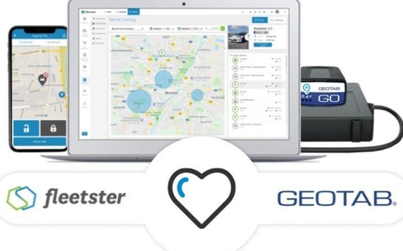 sistema keyless gps geotab